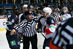04.01.2015, Dom Sportova, Zagreb, CRO, KHL League, KHL Medvescak vs Slovan Bratislava, 43. Runde, im Bild Cam Barker. // during the Kontinental Hockey League 43th round match between KHL Medvescak and Slovan Bratislava at the Dom Sportova in Zagreb, Croatia on 2015/01/04. EXPA Pictures © 2015, PhotoCredit: EXPA/ Pixsell/ Davor Puklavec<br /> <br /> *****ATTENTION - for AUT, SLO, SUI, SWE, ITA, FRA only*****