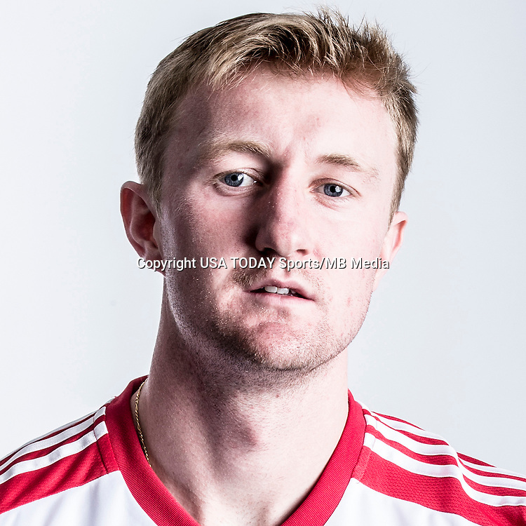 Feb 25, 2016; USA; New York Red Bulls player Ryan Meara poses for a photo. Mandatory Credit: USA TODAY Sports