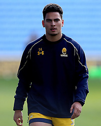 Afeafe Haisila Lokotui of Worcester Warriors - Mandatory by-line: Robbie Stephenson/JMP - 13/11/2016 - RUGBY - Ricoh Arena - Coventry, England - Wasps v Worcester Warriors  - Anglo Welsh Cup