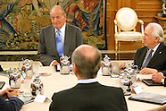 102213 King Juan Carlos Audience to the Governing Board of the Institute of Spain