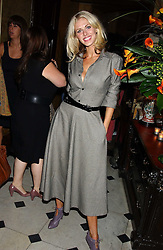 DONNA AIR at a party following the TopShop Unique fashion show held at Home House, Portman Square, London on 19th September 2005.<br /><br />NON EXCLUSIVE - WORLD RIGHTS