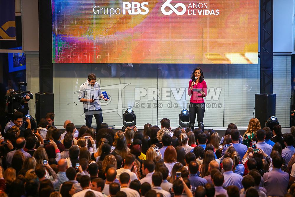 Aniversário de 60 anos do Grupo RBS, em Porto Alegre. FOTO: Lucas Uebel/ Agência Preview