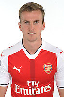 ST ALBANS, ENGLAND - AUGUST 03: (EXCLUSIVE COVERAGE)  Rob Holding of Arsenal at the 1st team photocall at London Colney on August 3, 2016 in St Albans, England.  (Photo by Stuart MacFarlane/Arsenal FC via Getty Images)