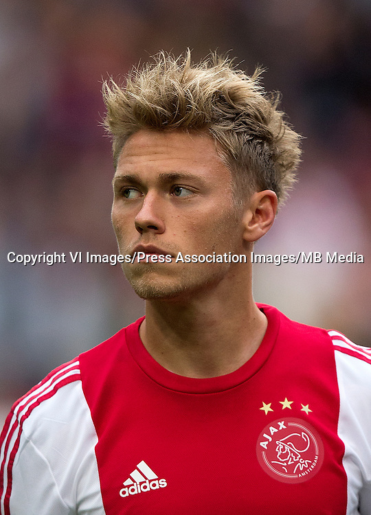Viktor Fischer, Ajax ... Soccer - UEFA Europa League - Group A - Ajax v Celtic - Amsterdam ArenA ... 17-09-2015 ... Amsterdam ... Netherlands ... Photo credit should read: John Walton/EMPICS Sport. Unique Reference No. 24207963 ...