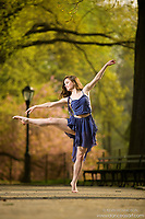 Dance As Art The New York City Photography Project Central Park with dancer Ashtyn Muzio