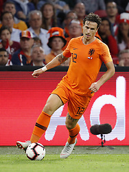 Daryl Janmaat of Holland during the International friendly match match between The Netherlands and Peru at the Johan Cruijff Arena on September 06, 2018 in Amsterdam, The Netherlands