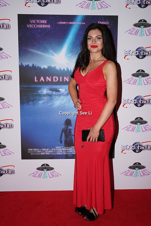 London, England, UK. 14th September 2017.Cast Joanna Leigh Hewitt attend the Landing Lake Film Premiere at Empire Haymarket,London, UK.