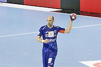 Vid Kavticnik - 05.03.2015 - Montpellier / Cesson Rennes - 17eme journee de Division 1<br />Photo : Andre Delon / Icon Sport