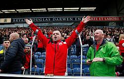 Bristol City fans cheer - Mandatory by-line: Matt McNulty/JMP - 17/04/2017 - FOOTBALL - Ewood Park - Blackburn, England - Blackburn Rovers v Bristol City - Sky Bet Championship