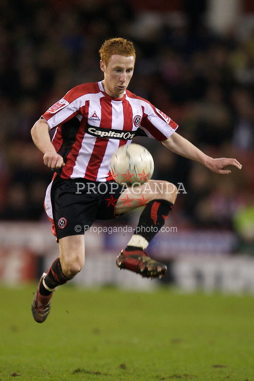 SHEFFIELD, ENGLAND - Sunday, January 27, 2008: Sheffield United's Stephen Quinn during the FA Cup 4th Round match against Manchester City at Bramall Lane. (Photo by David Rawcliffe/Propaganda)
