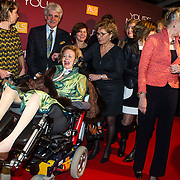 NLD/Amsterdam/20141216 - Filmpremiere You're Not You, ALS patiente