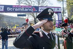March 24, 2019 - Milano, Italia, Italia - Foto Carlo Cozzoli - LaPresse.24-03-19 Milano ( Italia ).Cronaca.StraMilano 2019 partenza Castello (Credit Image: © Carlo Cozzoli/Lapresse via ZUMA Press)