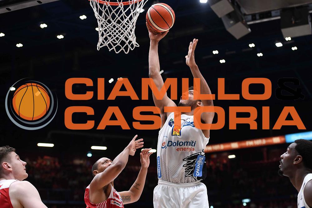 Shavon Shields<br /> EA7 Emporio Armani Olimpia Milano - Dolomiti Energia Trentino<br /> Playoff - Finale - Gara 1<br /> LegaBasket Serie A 2017/2018<br /> Milano, 05/06/2018<br /> Foto M.Ceretti / Ciamillo-Castoria