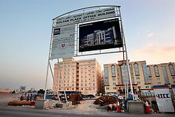 QATAR DOHA 11FEB07 - Sultan Plaza office building site in Doha, Qatar...jre/Photo by Jiri Rezac..© Jiri Rezac 2007