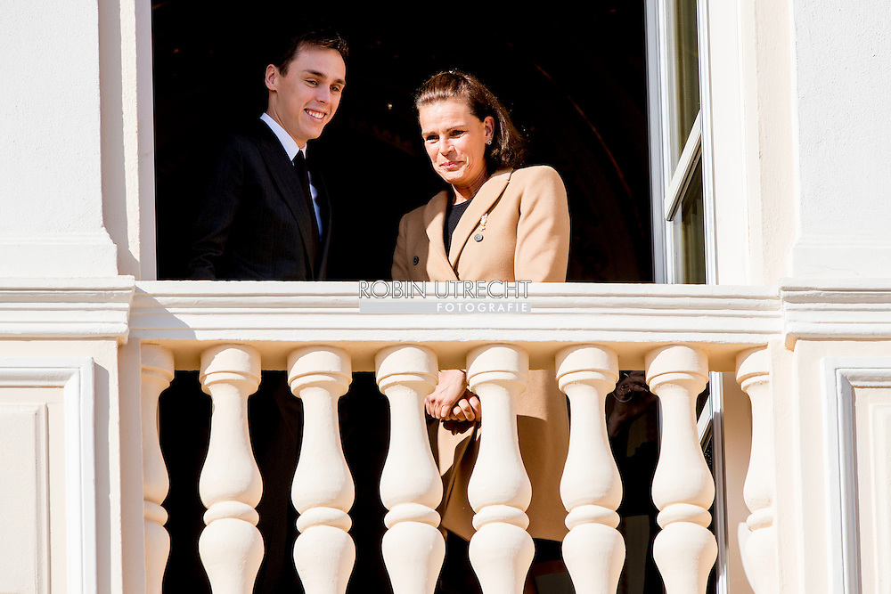 19-11-2016 - MONACO - Princess Charlene of Monaco with Princess Gabriela and Prince Albert II of Monaco with Prince Jacques . The National Day of Monaco also known as The Sovereign Prince's Day is currently annually celebrated on 19 November. Louis Ducruet and Princess Stephanie of Monaco  COPYRIGHT ROBIN UTRECHT<br /> <br /> 19-11-2016 - MONACO - Prinses Charlene van Monaco met Prinses Gabriela en Prins Albert II van Monaco met Prins Jacques. De Nationale Dag van Monaco ook bekend als The Sovereign Prinsjesdag wordt momenteel jaarlijks gevierd op 19 november. COPYRIGHT ROBIN UTRECHT