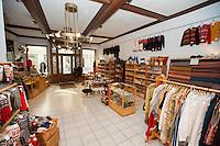 Interior of gift store
