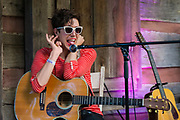 Ezra Furman at the Nelsonville Music Festival 2015 concert photography by Akron music photographer Mara Robinson Photography