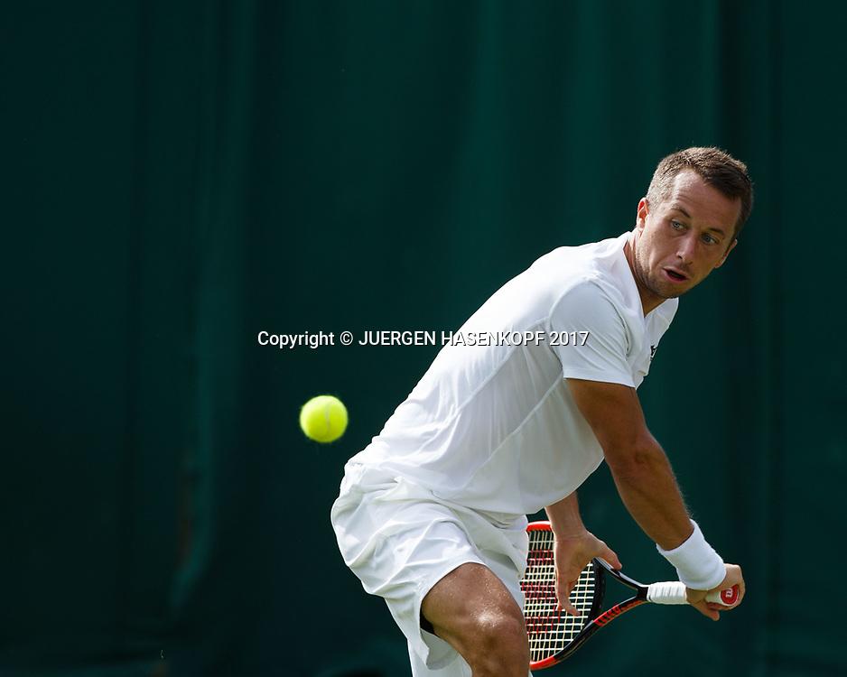 PHILIPP KOHLSCHREIBER (GER)<br /> <br /> Tennis - Wimbledon 2017 - Grand Slam ITF / ATP / WTA -  AELTC - London -  - Great Britain  - 3 July 2017.