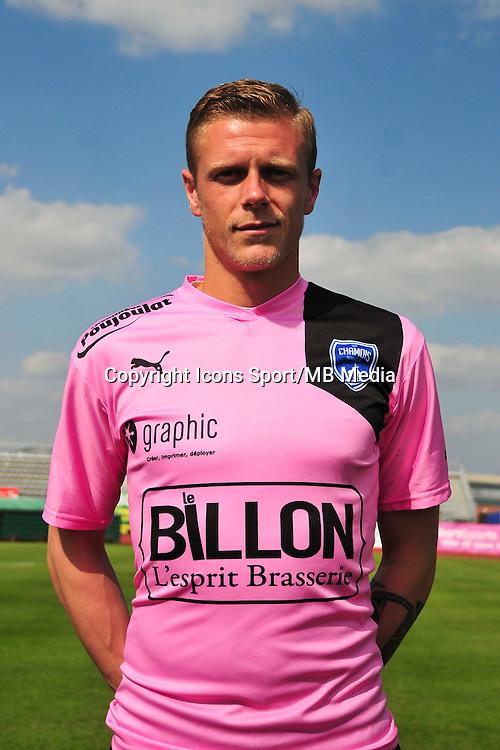 Paul Delecroix - 05.09.2014 - Photo officielle Niort - Ligue 2 2014/2015<br /> Photo : Philippe Le Brech / Icon Sport