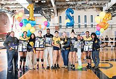 2017 A&T Volleyball vs FAMU (Senior Day)