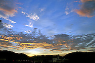 Images of Skies, Sunrises and Sunsets.