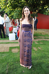 CLAIRE FORLANI at the annual Serpentine Gallery Summer party this year sponsored by Jaguar held at the Serpentine Gallery, Kensington Gardens, London on 8th July 2010.  2010 marks the 40th anniversary of the Serpentine Gallery and the 10th Pavilion.
