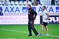 Guy NOVES / Jean Baptiste ELISSALDE - 24.04.2015 - Stade Francais / Stade Toulousain - 23eme journee de Top 14<br />Photo : Dave Winter / Icon Sport