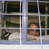 Lerma, Méx.- Aspecto de los dormitorios en el penal Estatal de Lerma, el mas pequeño de la entidad donde se tiene una población de solo 120 internos. Agencia MVT / Mario Vázquez de la Torre.