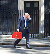 Cabinet meeting arrivals <br /> Downing Street, London, Great Britain <br /> 19th July 2016 <br /> <br /> New members of the Cabinet <br /> arriving ahead of the first cabinet meeting chaired by Theresa May <br /> <br /> Boris Johnson<br /> Foreign<br /> <br /> <br /> <br /> Photograph by Elliott Franks <br /> Image licensed to Elliott Franks Photography Services