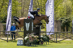 Pals Johnny, NED, A Lee Spring Power<br /> Class 3 presented by KBRSF and BOIC <br /> CSIO Lummen 2017<br /> © Hippo Foto - Dirk Caremans<br /> 28/04/2017