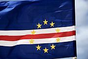 Cape Verdean flag. Drapeau Capverdien.