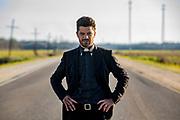 Dominic Cooper as Jesse Custer in Preacher, Season 2, Episode 1 - Photo Credit: Skip Bolen/AMC