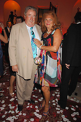 SIR WILLIAM & LADY MCALPINE at a party to celebrate the launch of the 'Inde Mysterieuse' jewellery collection held at Lancaster House, London SW1 on 19th September 2007.<br /><br />NON EXCLUSIVE - WORLD RIGHTS