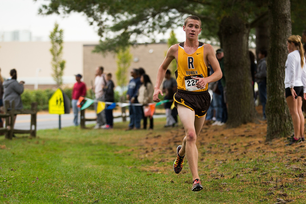 Rowan University Tim Dole - Collegiate Track Conference  Cross-Country Men's Championship at Gloucester County College in Sewell, NJ on Saturday October 19, 2013. (photo / Mat Boyle)