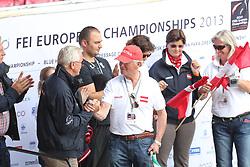 Max-Theurer, Hans;<br /> Wittig, Wolfram, <br /> Herning - Europameisterschaft Dressur-, Springen- und Para<br /> Dressur Teil 2<br /> © www.sportfotos-lafrentz.de/ Stefan Lafrentz