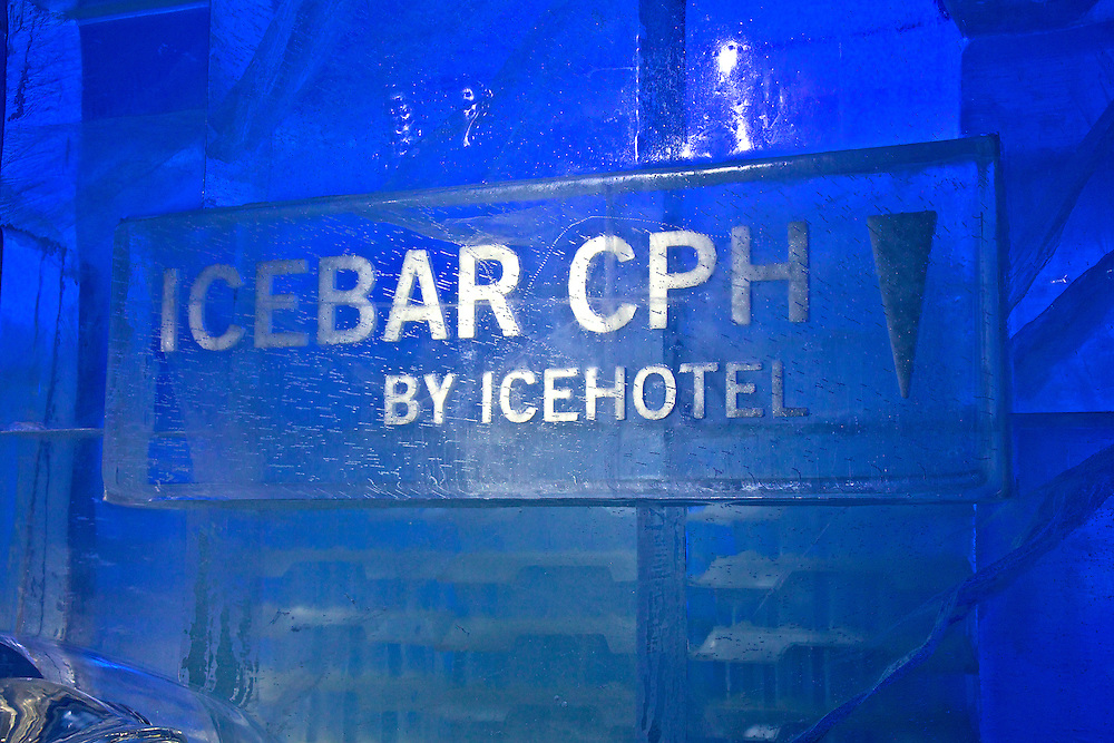 A very COOL experience! Drinks are served in a Torne River ice glass of course. The ICEBAR in Copenhagen was the first ever to be launched by ICEHOTEL (April 2009).
