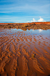 Reflections in the pindan at James Price Point in the Kimberley wet season.