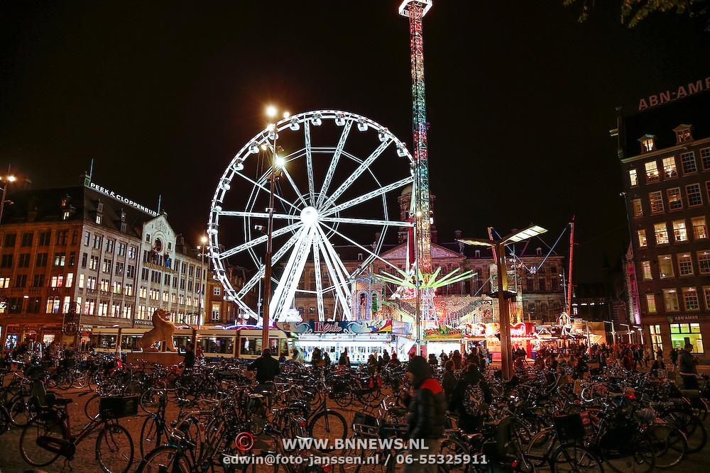 NLD/Amsteram/20121025- Kermis op de Dam in Amsterdam
