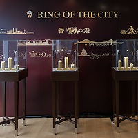 Goldsmith demonstration at Wellendorff Jewelry store on 29 April, 2016 at Ocean Centre, Harbour City store, in Hong Kong, China. Photo by Moses Ng / studioEAST
