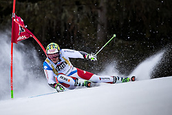 19.12.2016, Grand Risa, La Villa, ITA, FIS Ski Weltcup, Alta Badia, Riesenslalom, Herren, 1. Lauf, im Bild Justin Murisier (SUI) // Justin Murisier of Switzerland in action during 1st run of men's Giant Slalom of FIS ski alpine world cup at the Grand Risa race Course in La Villa, Italy on 2016/12/19. EXPA Pictures © 2016, PhotoCredit: EXPA/ Johann Groder