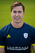 James Fuller of Hampshire during the 2019 press day for Hampshire County Cricket Club at the Ageas Bowl, Southampton, United Kingdom on 27 March 2019.