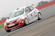 ELF Renault Clio Cup  Rds 17 & 18.   Silverstone 2008