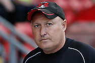Picture by David Horn/Focus Images Ltd +44 7545 970036.21/08/2012.Russell Slade of Leyton Orient during the npower League 1 match at the Matchroom Stadium, London.