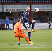 Dundee's Gary Harkins and Kilmarnock's Chris Chantler -  Dundee v Kilmarnock, SPFL Premiership at Dens Park <br /> <br /> <br />  - &copy; David Young - www.davidyoungphoto.co.uk - email: davidyoungphoto@gmail.com