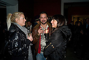 BIANCA ROUND; LUIS HERRERO; SIMONE VAN HALTREN, Imperial and Royal Presents. Russian auction. Sotheby's. New Bond St. London. 23 November 2008.  *** Local Caption *** -DO NOT ARCHIVE-© Copyright Photograph by Dafydd Jones. 248 Clapham Rd. London SW9 0PZ. Tel 0207 820 0771. www.dafjones.com.