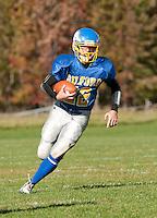 Varsity football Gilford versus Newfound October 9, 2010.