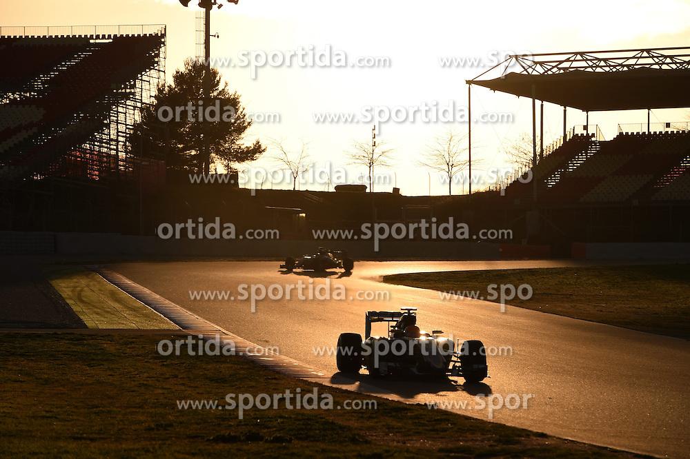 27.02.2015, Circuit de Catalunya, Barcelona, ESP, FIA, Formel 1, Testfahrten, Barcelona, Tag 2, im Bild Felipe Nasr (BRA) Sauber C34 // during the Formula One Testdrives, day two at the Circuit de Catalunya in Barcelona, Spain on 2015/02/27. EXPA Pictures &copy; 2015, PhotoCredit: EXPA/ Sutton Images/ Mark Images<br /> <br /> *****ATTENTION - for AUT, SLO, CRO, SRB, BIH, MAZ only*****