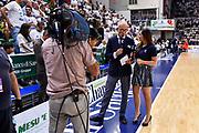 Guido Bagatta, Giulia Cicchinè,<br /> Banco di Sardegna Dinamo Sassari - Umana Reyer Venezia<br /> LBA Serie A Postemobile 2018-2019 Playoff Finale Gara 3<br /> Sassari, 14/06/2019<br /> Foto L.Canu / Ciamillo-Castoria