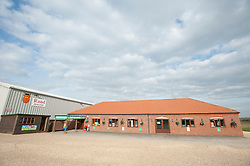 General view of Rand Farm Park, Rand, Lincolnshire<br /> <br /> Clydesdale Bank - Rand Farm Park<br /> <br /> March 27, 2015