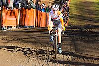 Pauline FERRAND PREVOT  - 11.01.2015 - Cyclo cross - Championnats de France Femmes - Pontchateau<br /> Photo : Vincent Michel / Icon Sport